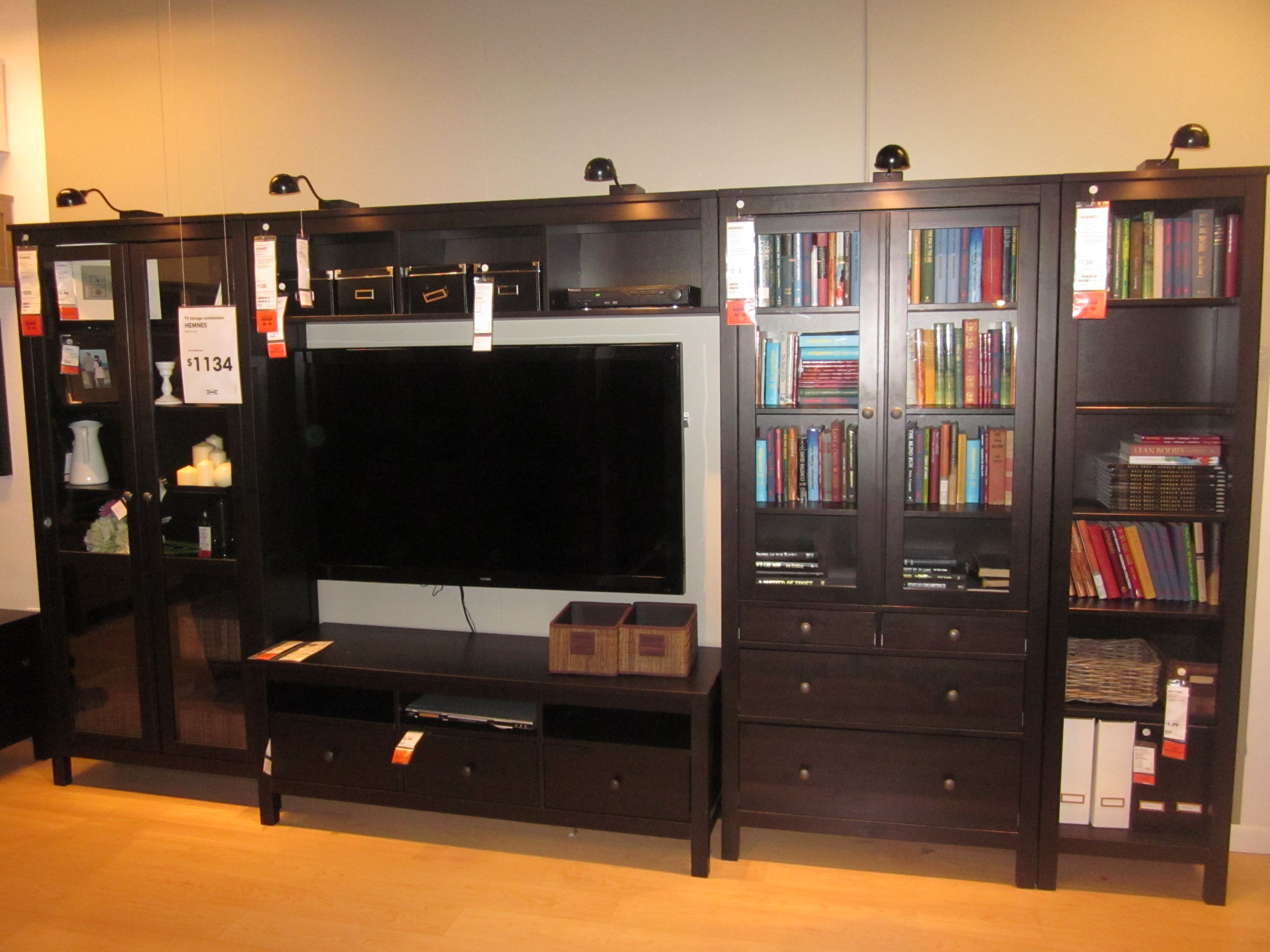 Hemnes Ikea Entertainment Center ~ entertainment center  IKEA  Dream Home  Pinterest