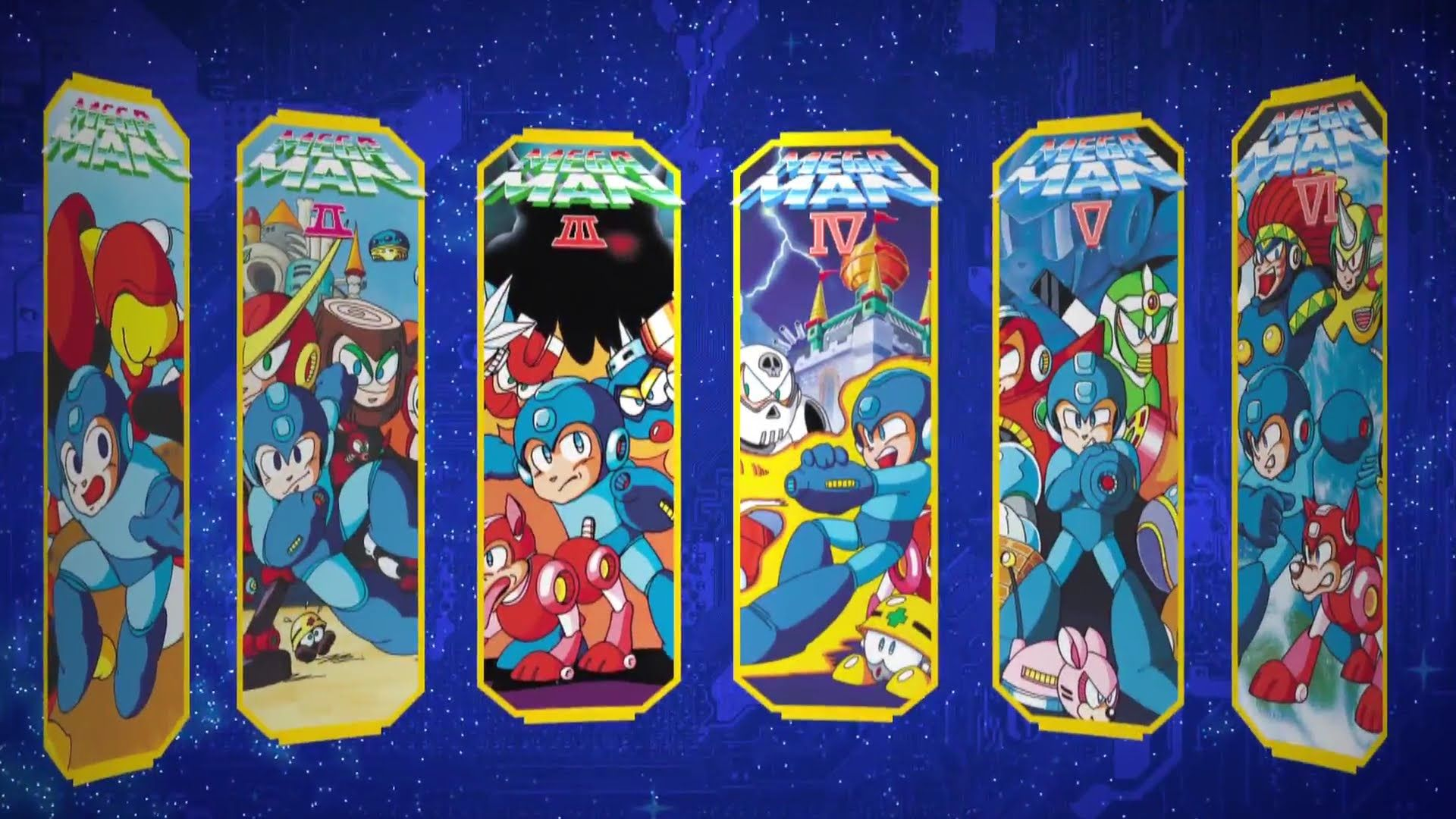 View Download Comment And Rate This 1920x1080 Mega Man Legacy Collection Wallpaper Wallpaper Abyss Mega Man Legacy Mega Man Legacy Collection