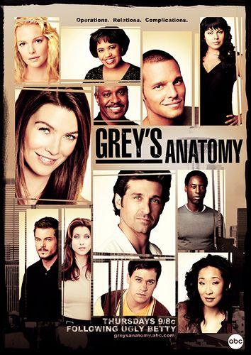 Grey\'s Anatomy: Season 3 | Pinterest | Anatomy, Grays anatomy and TVs