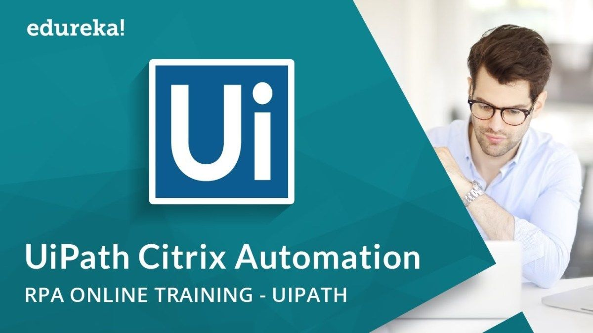 UiPath Citrix Automation   Image and Text Automation in