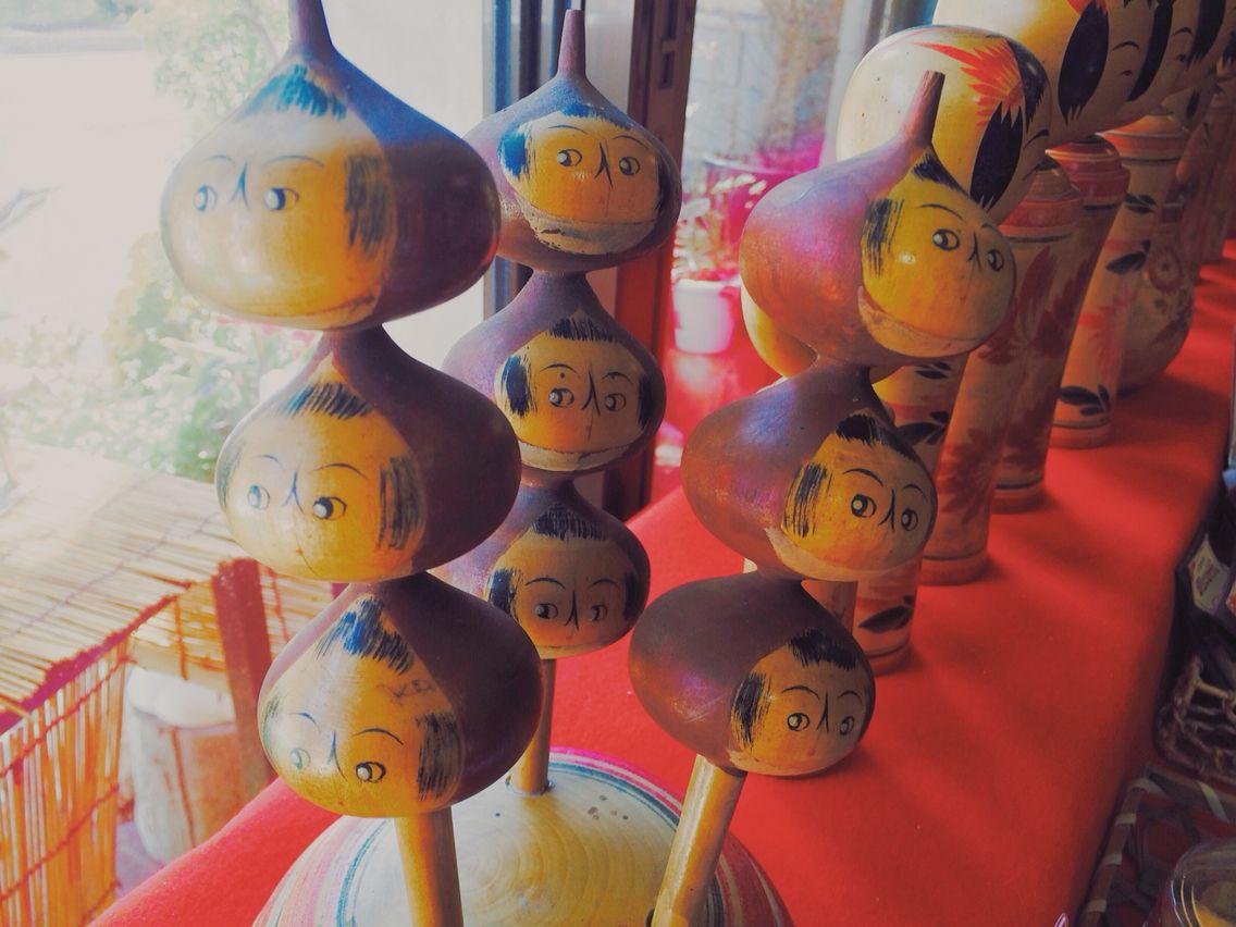 Famous chestnuts sweets @ Naruko