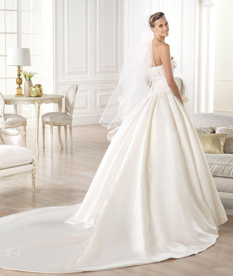 GEORGIA - Strapless wedding dress. Pronovias 2015 | Georgia wedding ...
