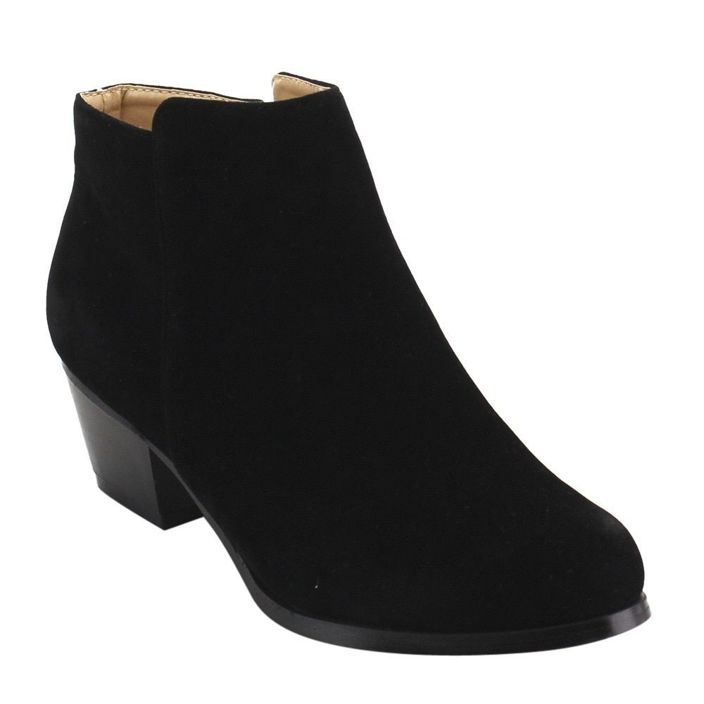 Chase & Chloe Women's Ankle Booties