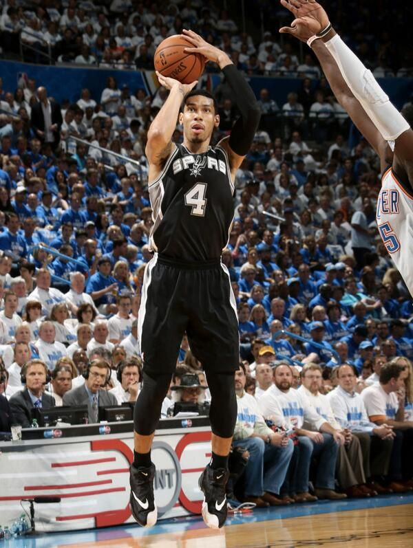 SoleWatch    Danny Green in the Nike Air Zoom Flight The Glove  nike  spurs 6d28f3385