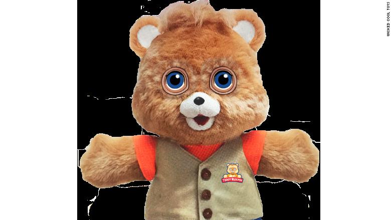 Teddy Ruxpin The Iconic Talking Teddy Bear From The 1980s Is Back Teddy Ruxpin Talking Teddy Bear Bear Toy