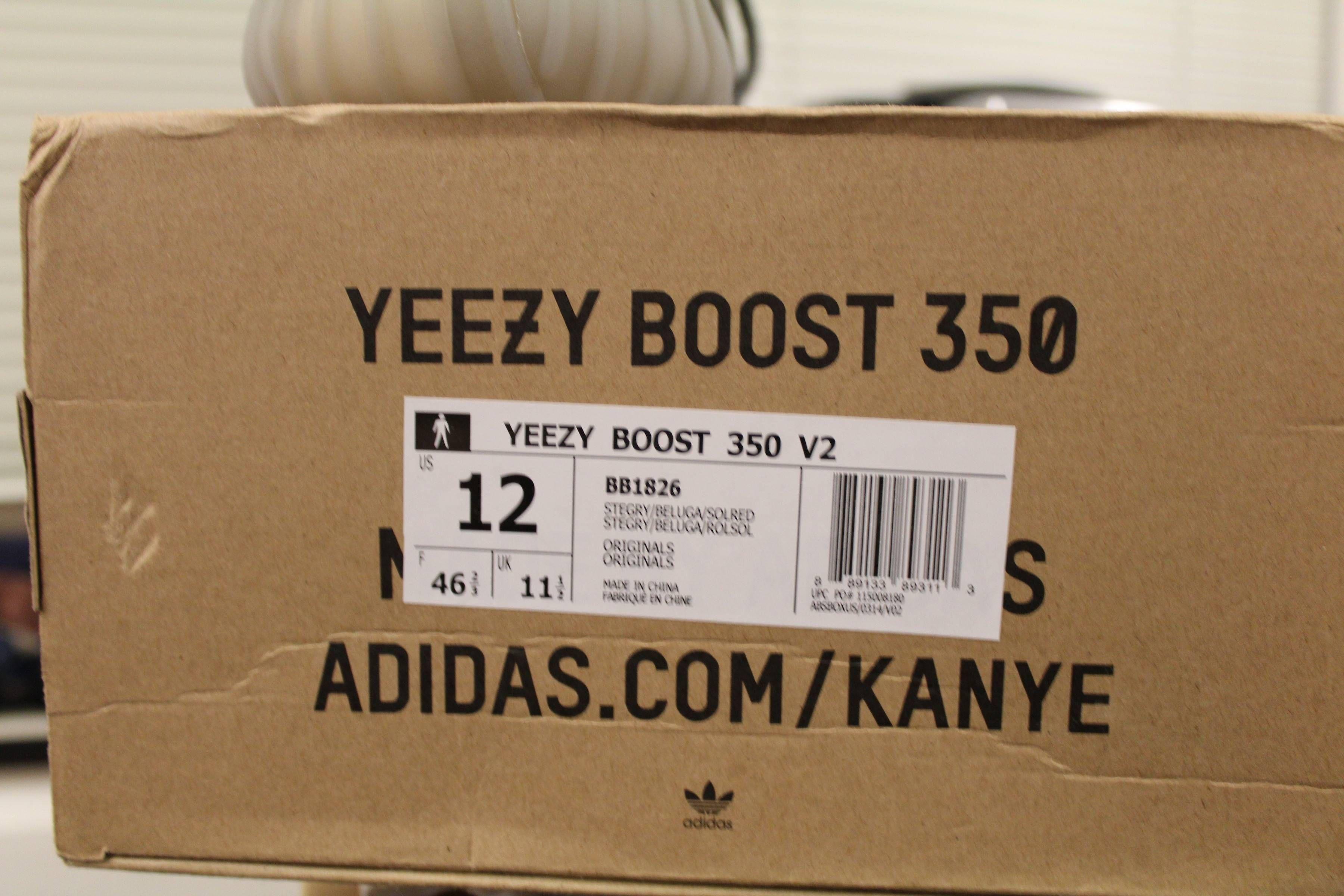 kanye west yeezy boost 350 size 12 adidas jacket medium