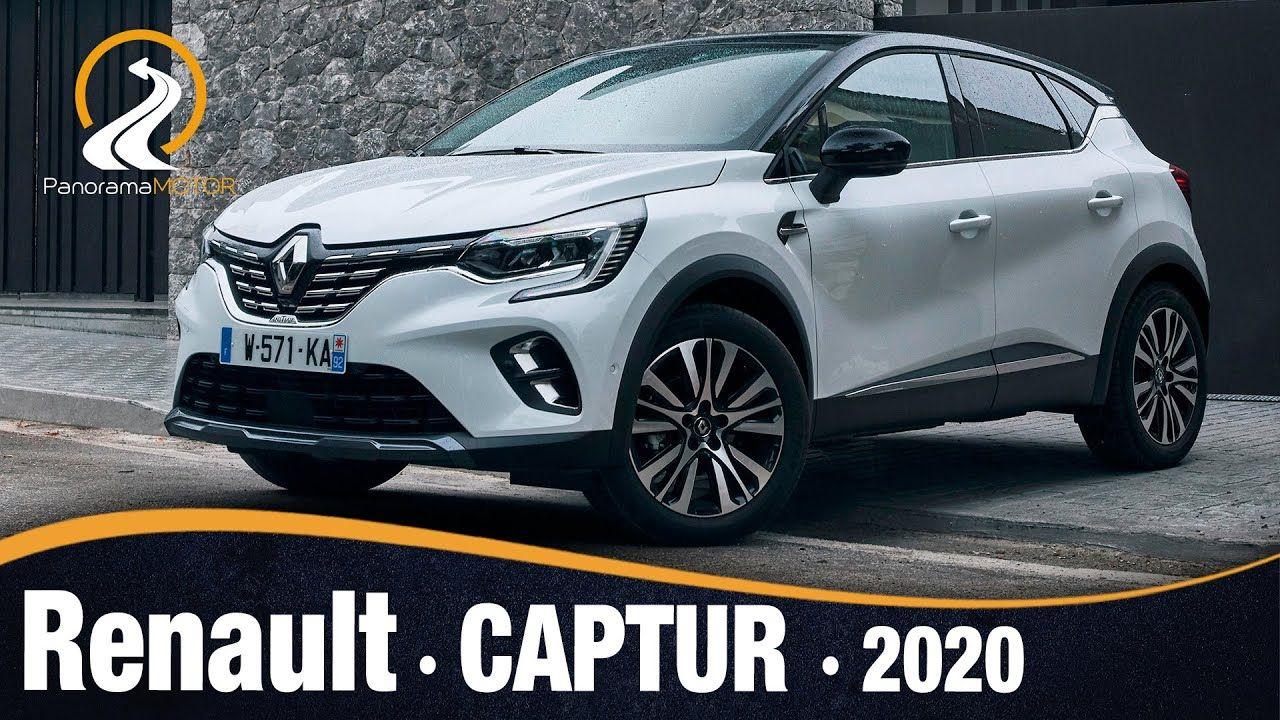 Renault Captur 2020 Sistema De Audio Motor Hibrido Y Paneles De