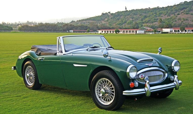 9 1966 Austin Healey 3000 Mkiii Dad Let Me Drive Her On Occasion