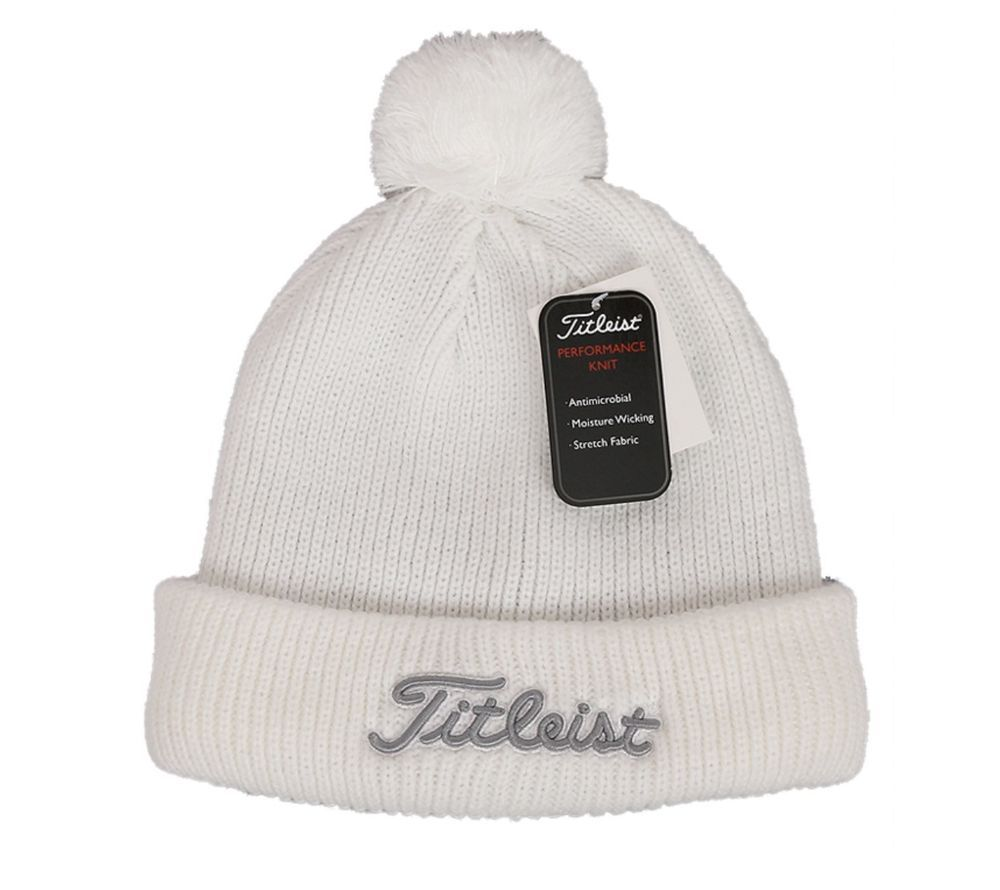 9697386e0b0 Titleist Golf Knitted Warm Thermal Winter Tour Pro Beanie Hat Lifestyle  Stylish  Titleist