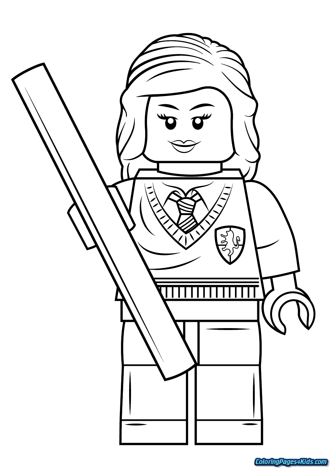 lego harry potter coloring pages free  Harry potter coloring