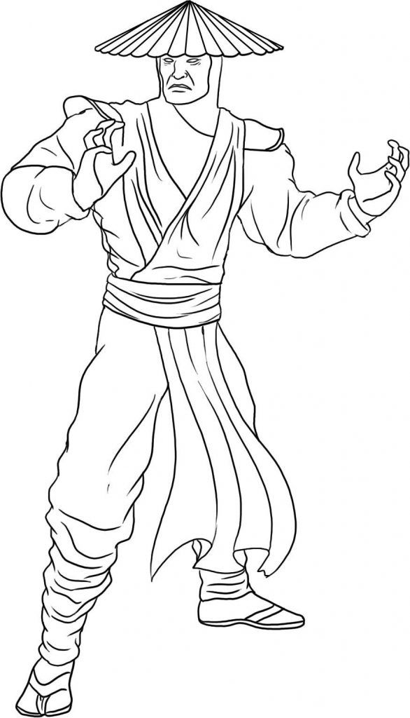 mortal kombat coloring pages Free Printable Mortal Kombat Coloring Pages For Kids | Coloring  mortal kombat coloring pages