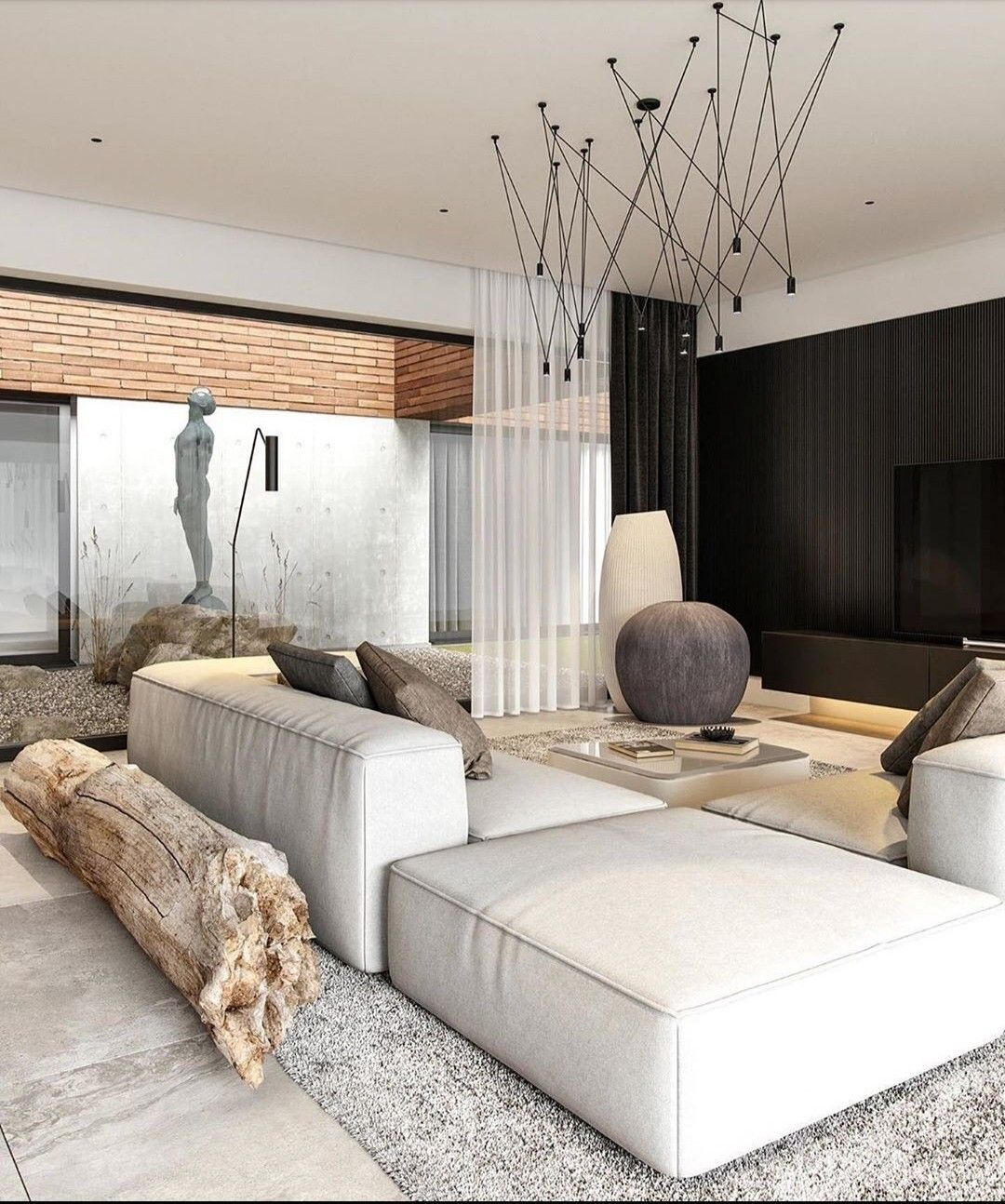Pin by Phoebe Jules on living rooms in 2020 | Loft design, House interior,  Interior