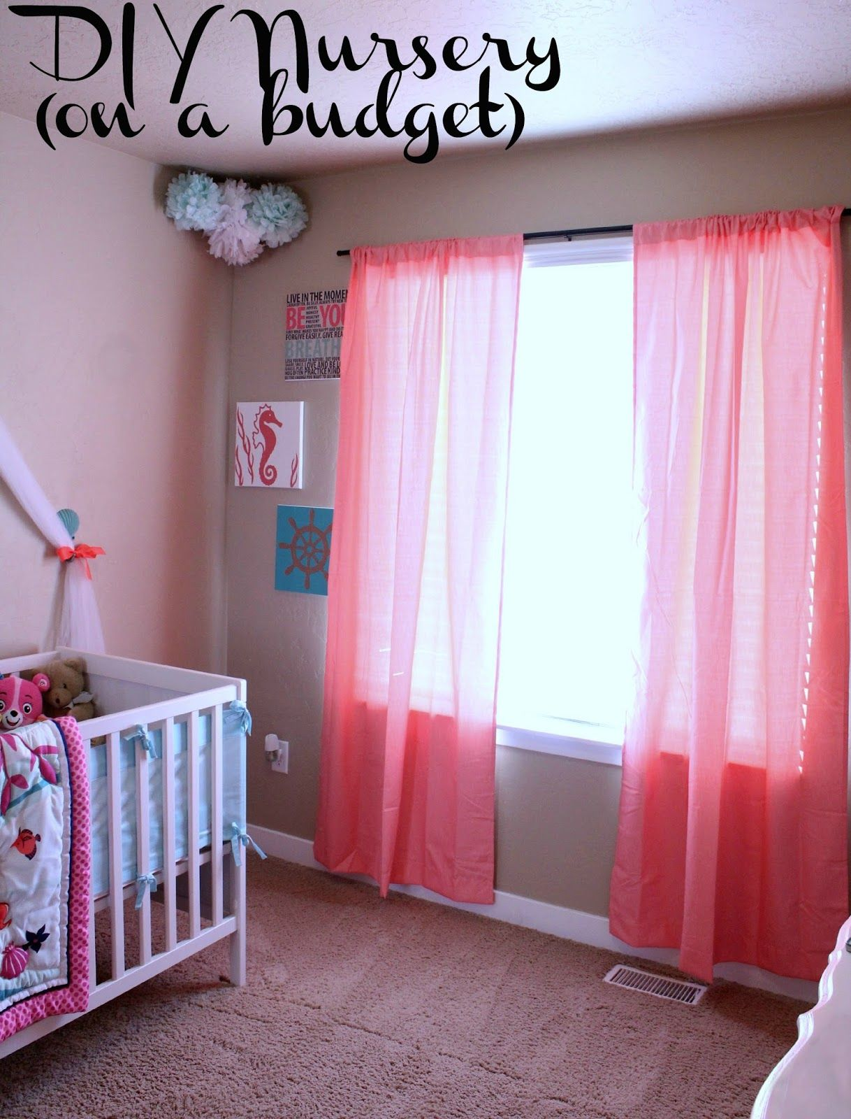 Diy Nursery On A Budget Easy Tips And Tricks To