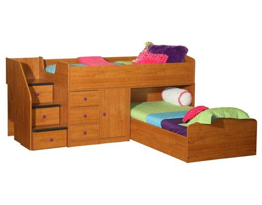 Berg Furniture Twin Captains Storage Bed 22 731 Small Space Guest Beds Kids Room Bed Girls Bunk Beds Kid Beds