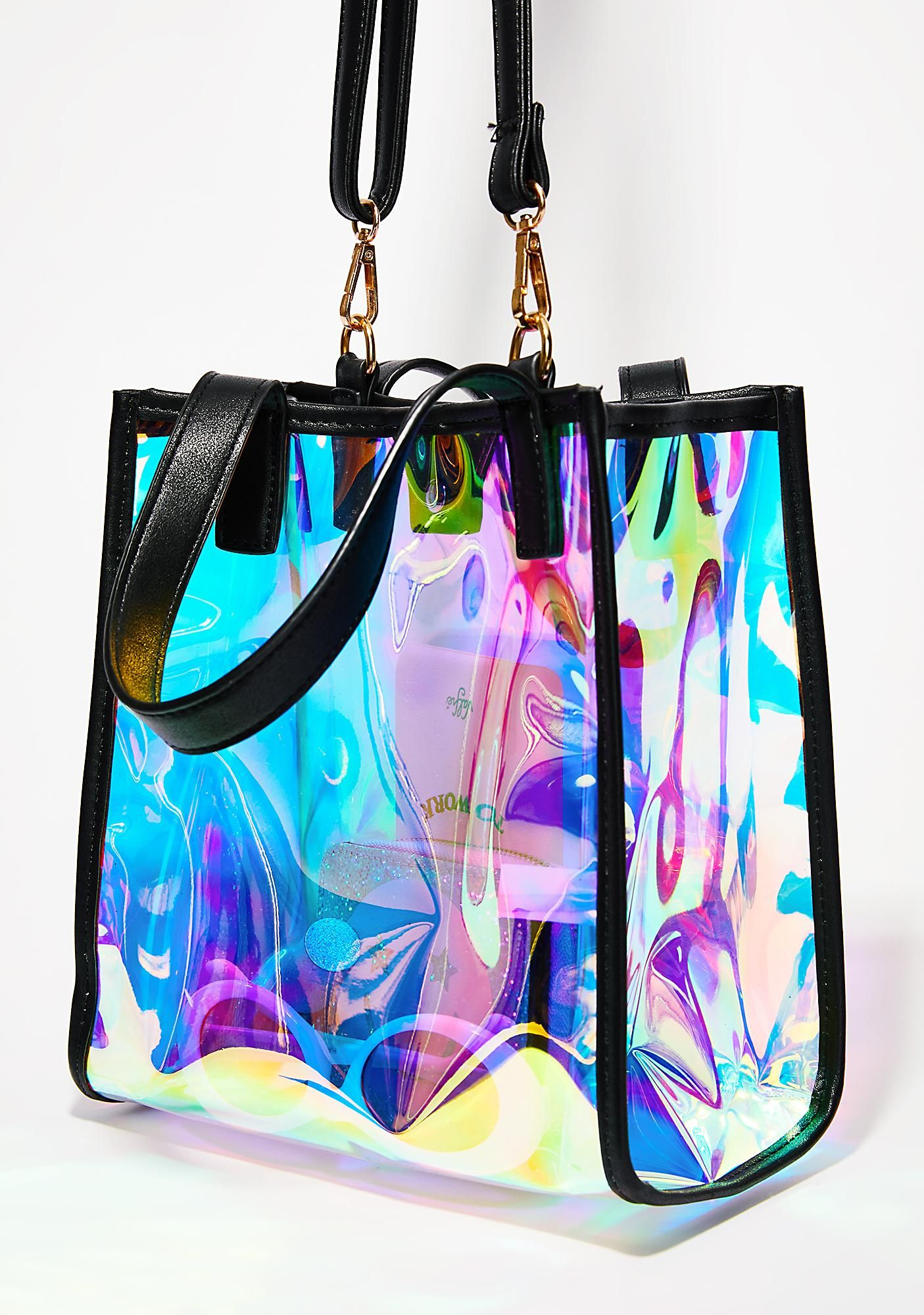 Moon Beamer Hologram Bag   Accessories   Bags, Handbags, Metallic ... 910c355f8f9