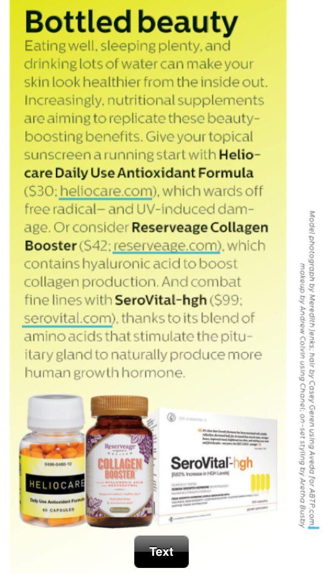 Need serovital | Topical Free radicals Your skin
