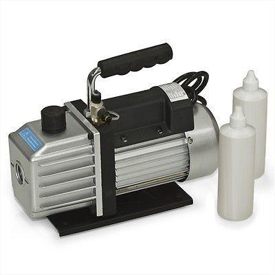 Vacuum Pump 2-Stage 39 CFM 1/3HP Rotary Vane Deep HVAC Tool For AC