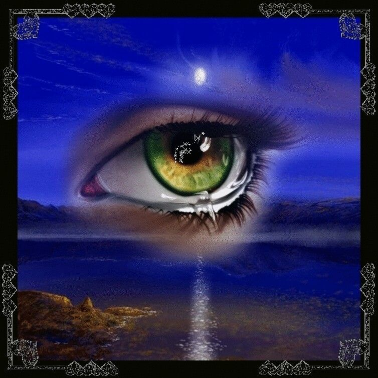 The Eye In The Sky Eyes Artwork Beautiful Gif Animation