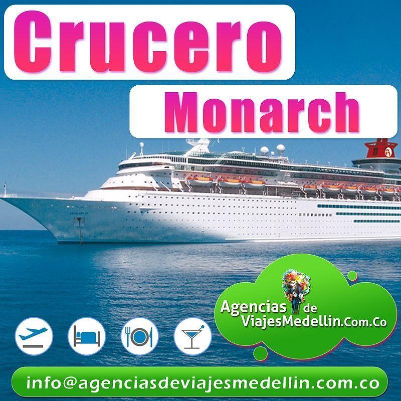 #crucero #monarch . Todo un recorrido espectacular.  Vive la aventura con la #familia #pareja #amigos  desde #cali #tulua #buga  #palmira #bogota #medellin #barranquilla #bucaramanga #pasto #pereira #manizales  pregunta por nuestros descuentos  http://bit.ly/2eJFFvv