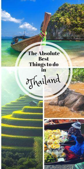 Thailand Reisetipps – Dinge, die Sie wissen sollten, bevor Sie gehen   – Places to travel