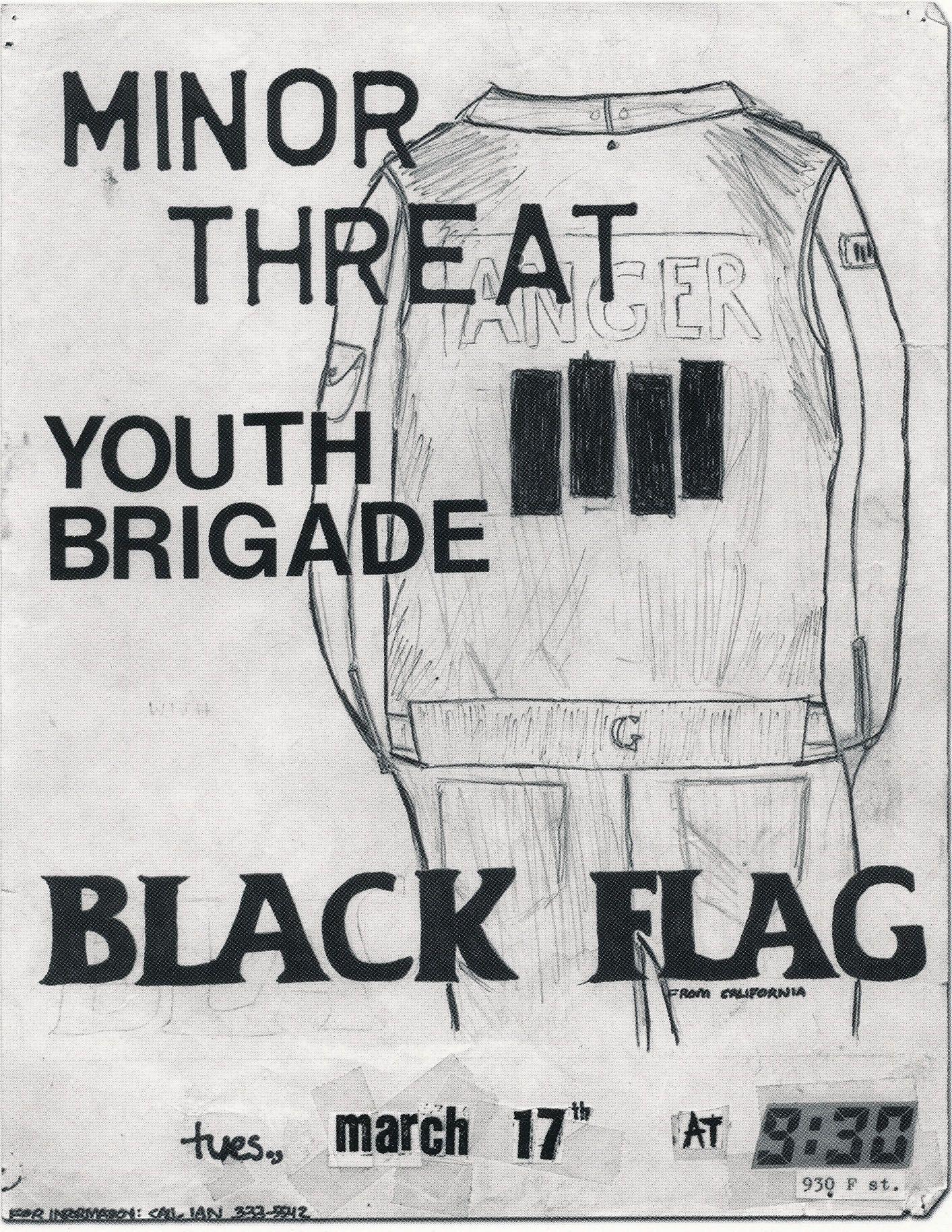 95ba495e9 Minor Threat Black Flag