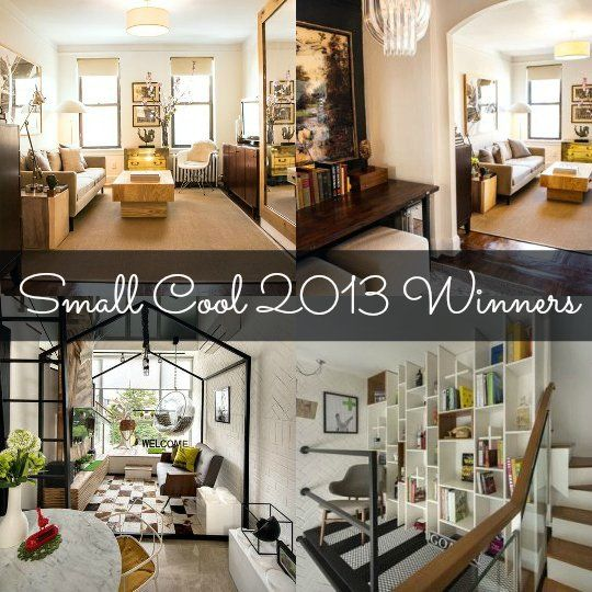 Small Nyc Apartment Living Room Ideas: Congratulations To The Small Cool Winners!
