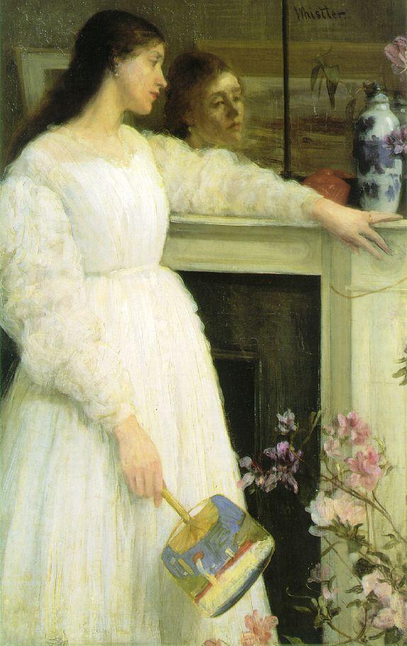 James Abbott McNeill Whistler  Symphony in White No 2: The Little White Girl, 1864,