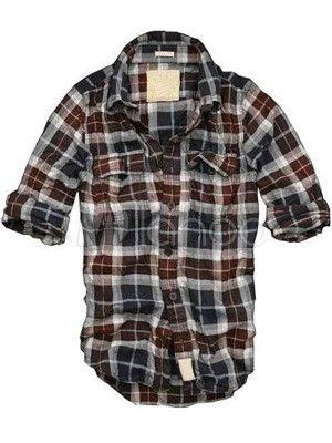 online store c1f95 84d9e Casual quadri rossi e neri cotone 100% Maniche lunghe ...