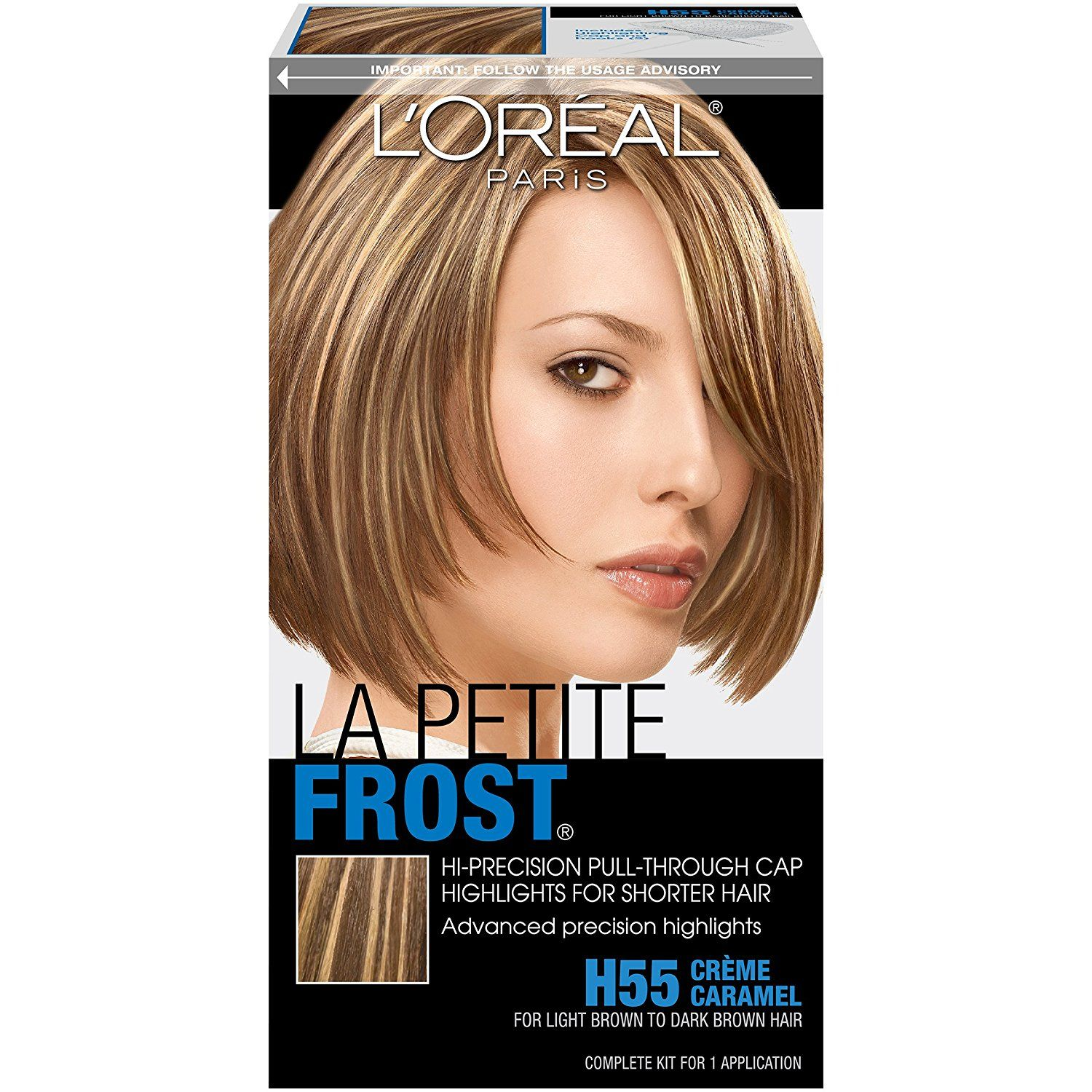 Loreal Paris Le Petite Frost Pull Through Cap Highlights For Short