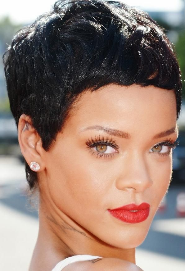 Admirable 1000 Images About Hair On Pinterest Rihanna Rihanna Hairstyles Short Hairstyles For Black Women Fulllsitofus