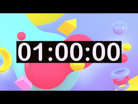 Timer For Kids 1 Hour Countdown Timer With Music For Classroom Dance Learn Study Play Work To Youtube Countdown Timer Fun Timers Countdown