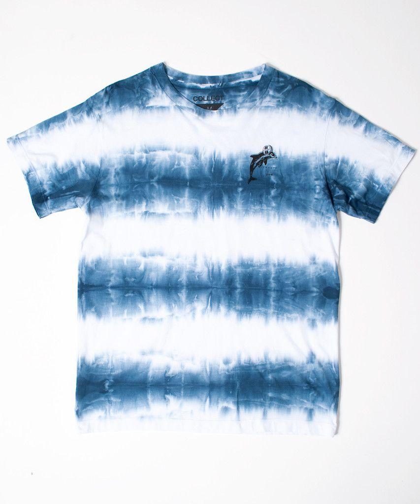 260997bf553c Blue Striped Tie-Dye Winter Sports T-Shirt | SP15 Pattern | Tie dye ...