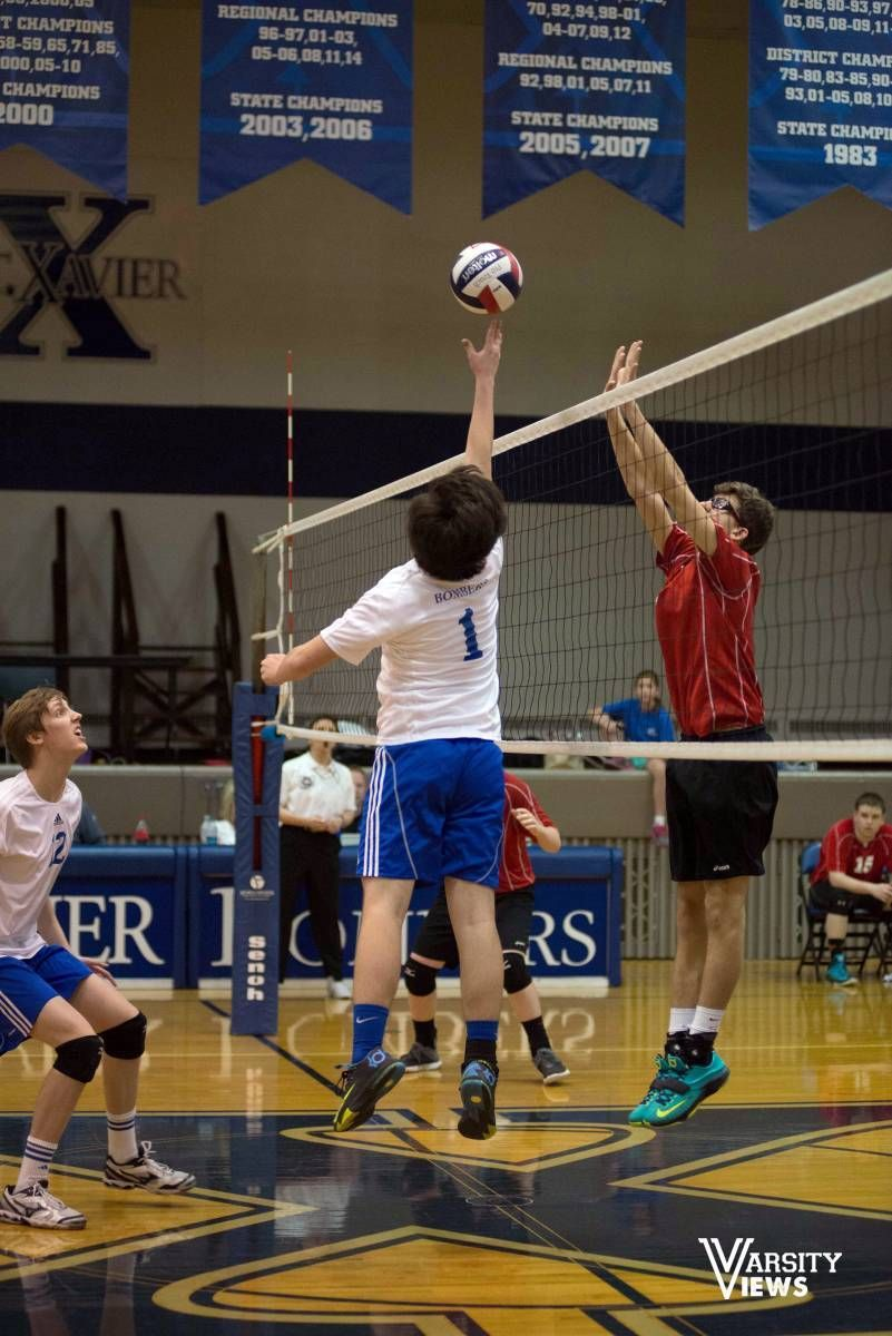 Check Out The St Xavier Vs Lasalle Game Saint Xavier Volleyball Champion