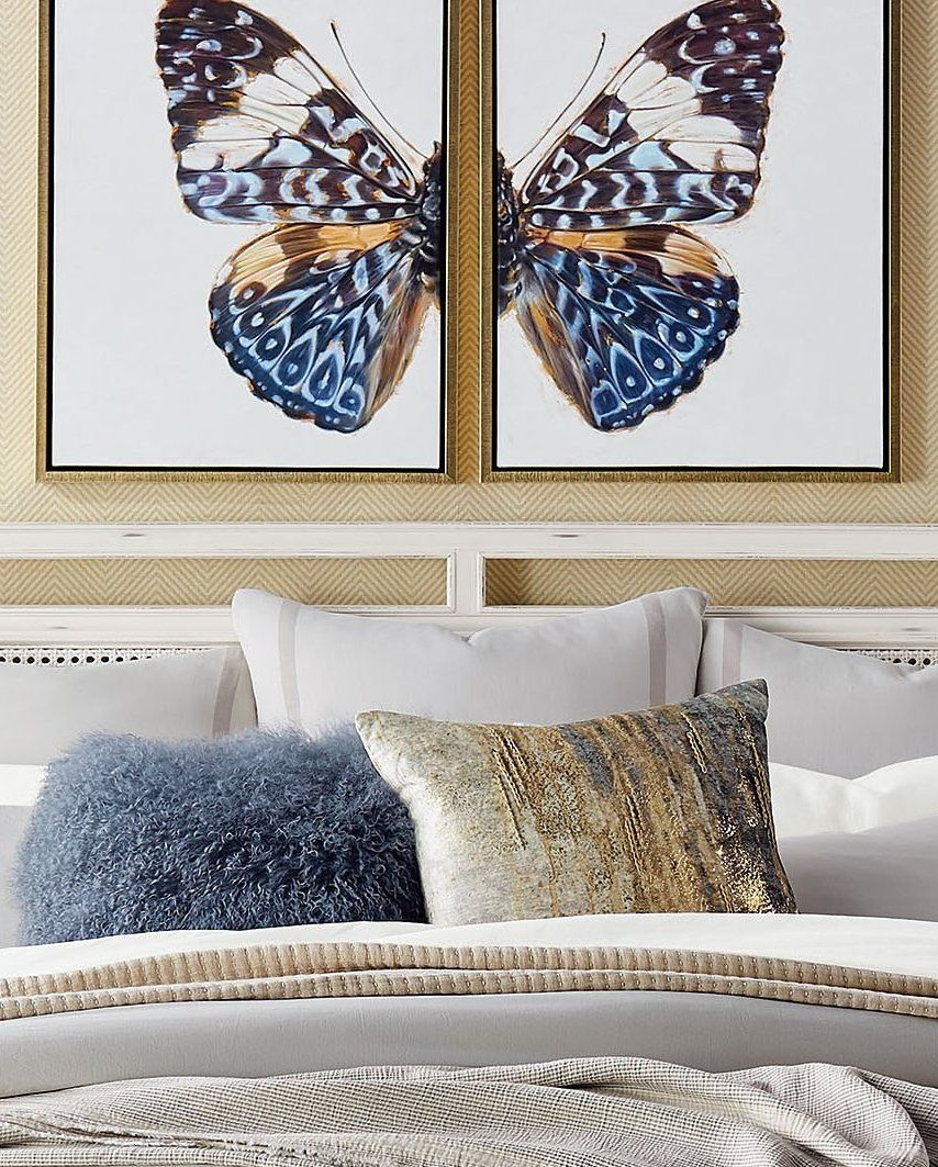 A stunning butterfly is rendered in rich hues, sparked by brilliant