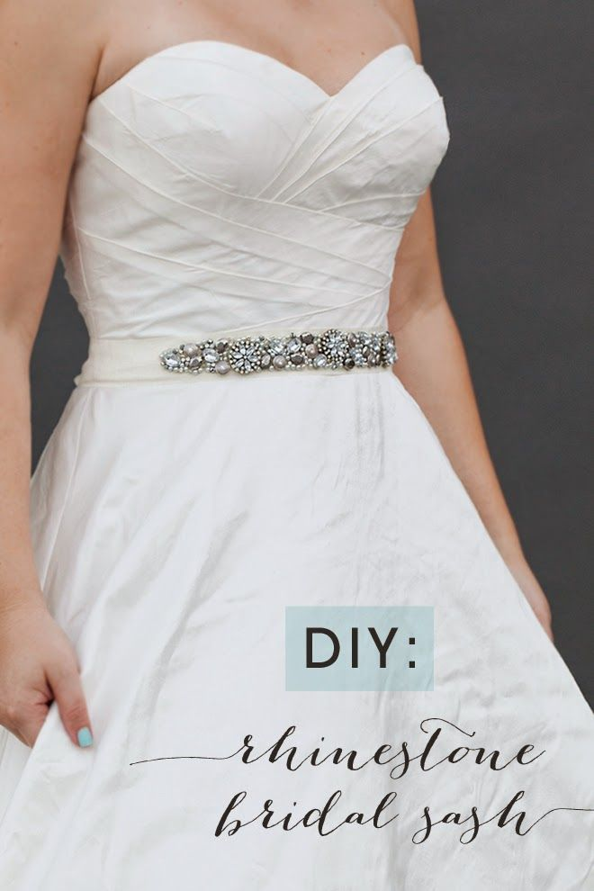 426c23ee1 NIÑA PIJA Complementos de bodas originales y creativas  DIY  Cinturón De Pedrería  Para Vestido De Novia