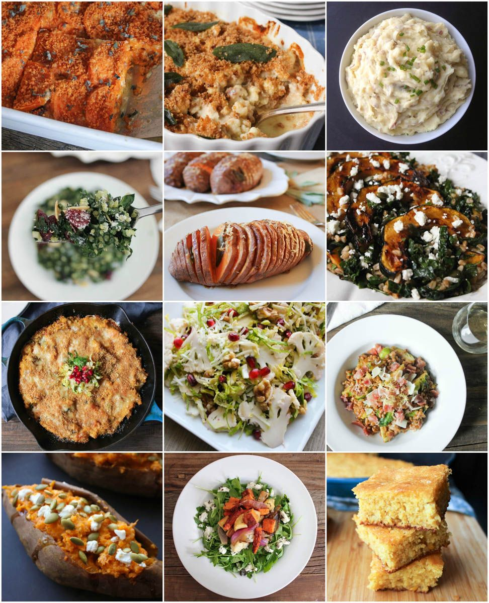 12 simple, impressive and healthy sides for your holiday table. (There's something for everyone!) #FallFest #Thanksgiving