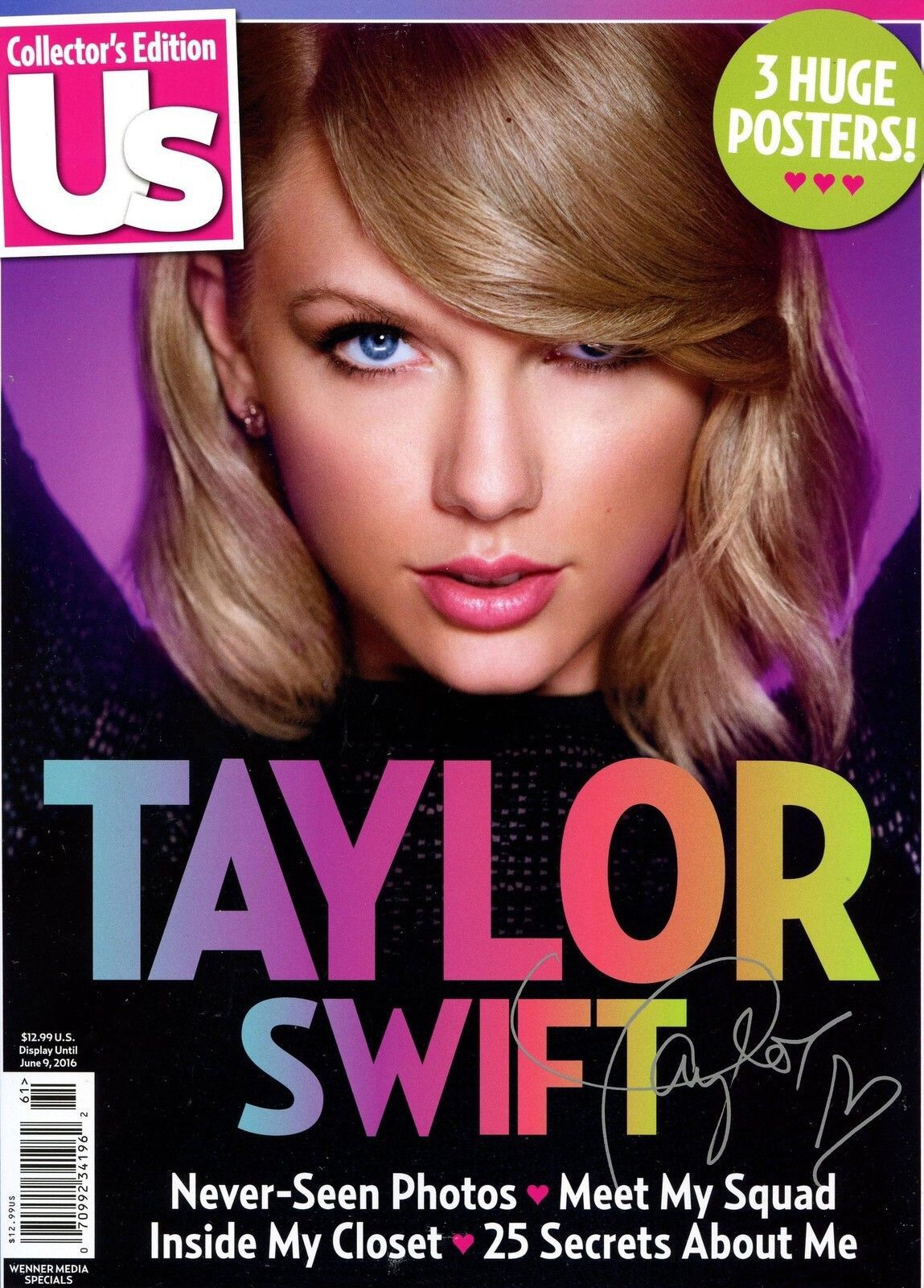Taylor swift photographed for us magazine collectors edition taylor swift photographed for us magazine collectors edition m4hsunfo