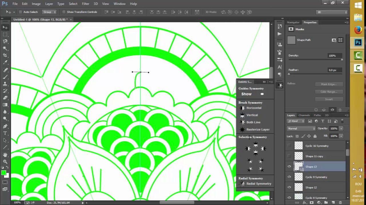 Create a Mandala in Mandala