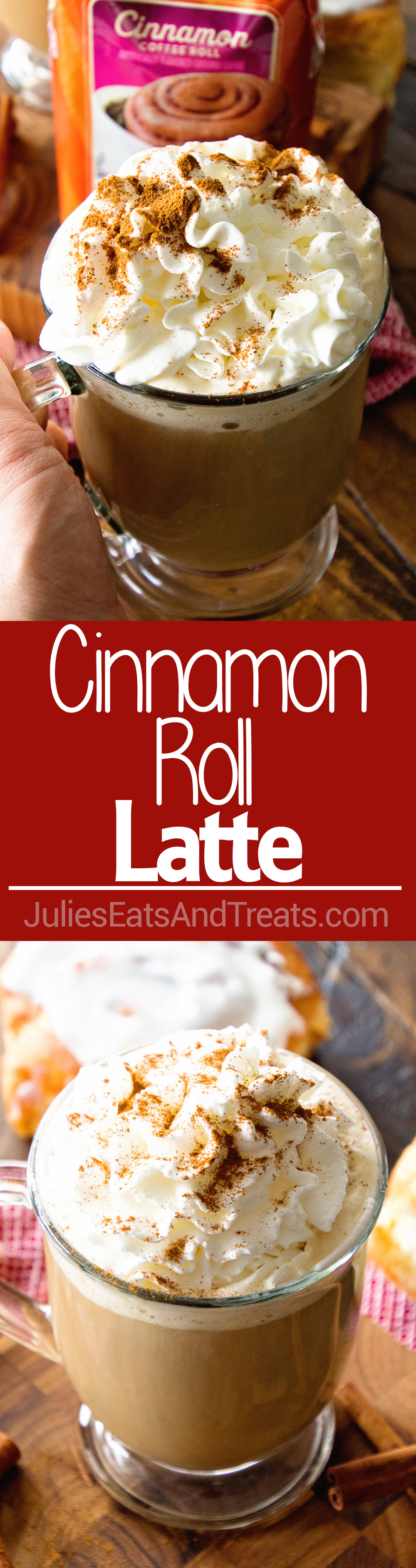 Cinnamon Roll Latte Recipe Christmas ideas Coffee