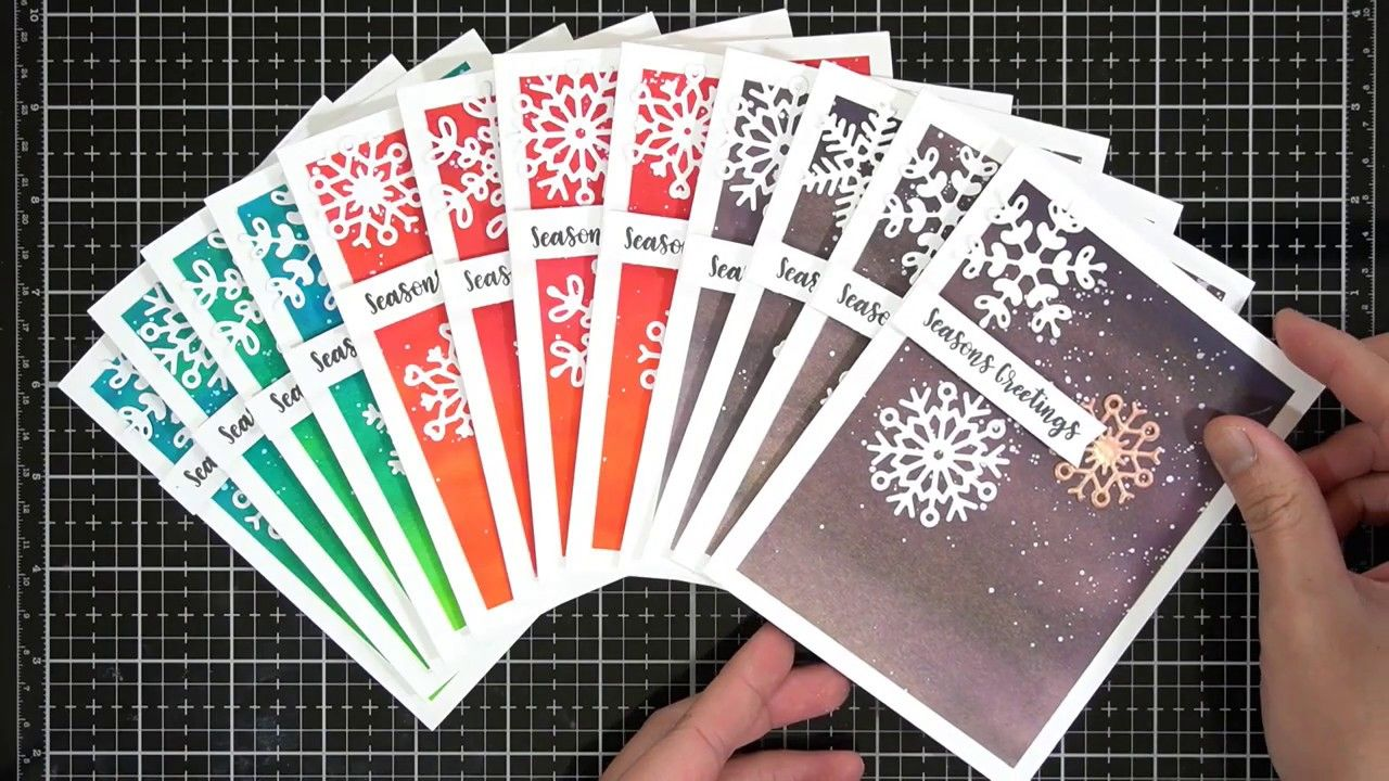 mass card production tips  tricks  youtube  cards