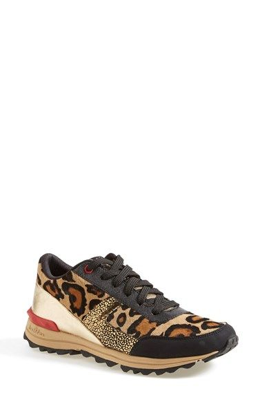 These Sam Edelman leopard sneakers are just gaudy enough for