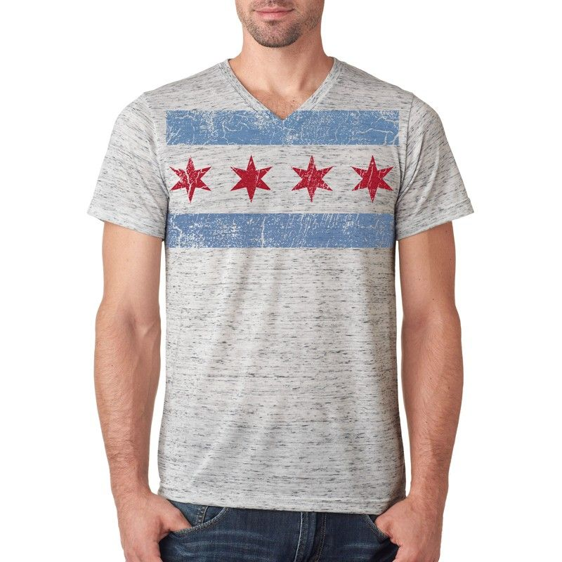 28 00 Chicago Flag T Shirt Cool Stuff Mens Tees T Shirt Flag