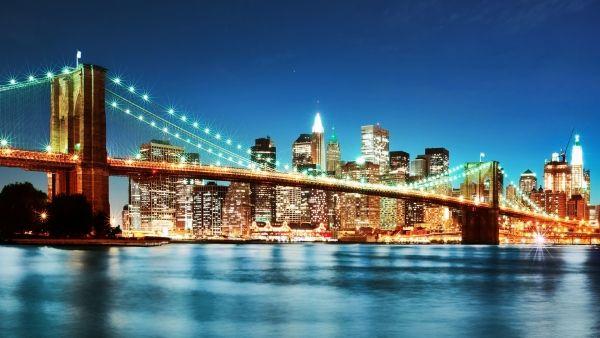 New York Wallpaper 1920x1080 2 Wallpaper Hd Wallpaper High Definition Wallpaper Hd Wallpaper Bridge Wallpaper Skyline Urban Landscape Brooklyn bridge hd wallpaper