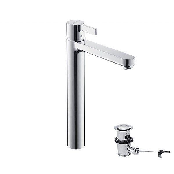 Hansgrohe Metris S Tall Single Lever Basin Mixer | Basin mixer ...