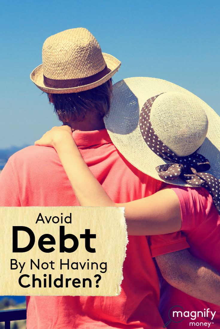 Avoid debt by not having children debt zero interest