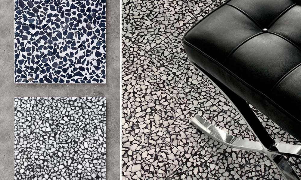 Mosaic Del Sur Decors De Sols Et Murs En Carreaux Terrazzo Usine Mosaic Factory Terrazzo Decoration Galeries De Photos