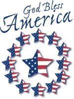 God Bless America Clip Art Scrapbook Graphics Clip Art Clip Art Borders