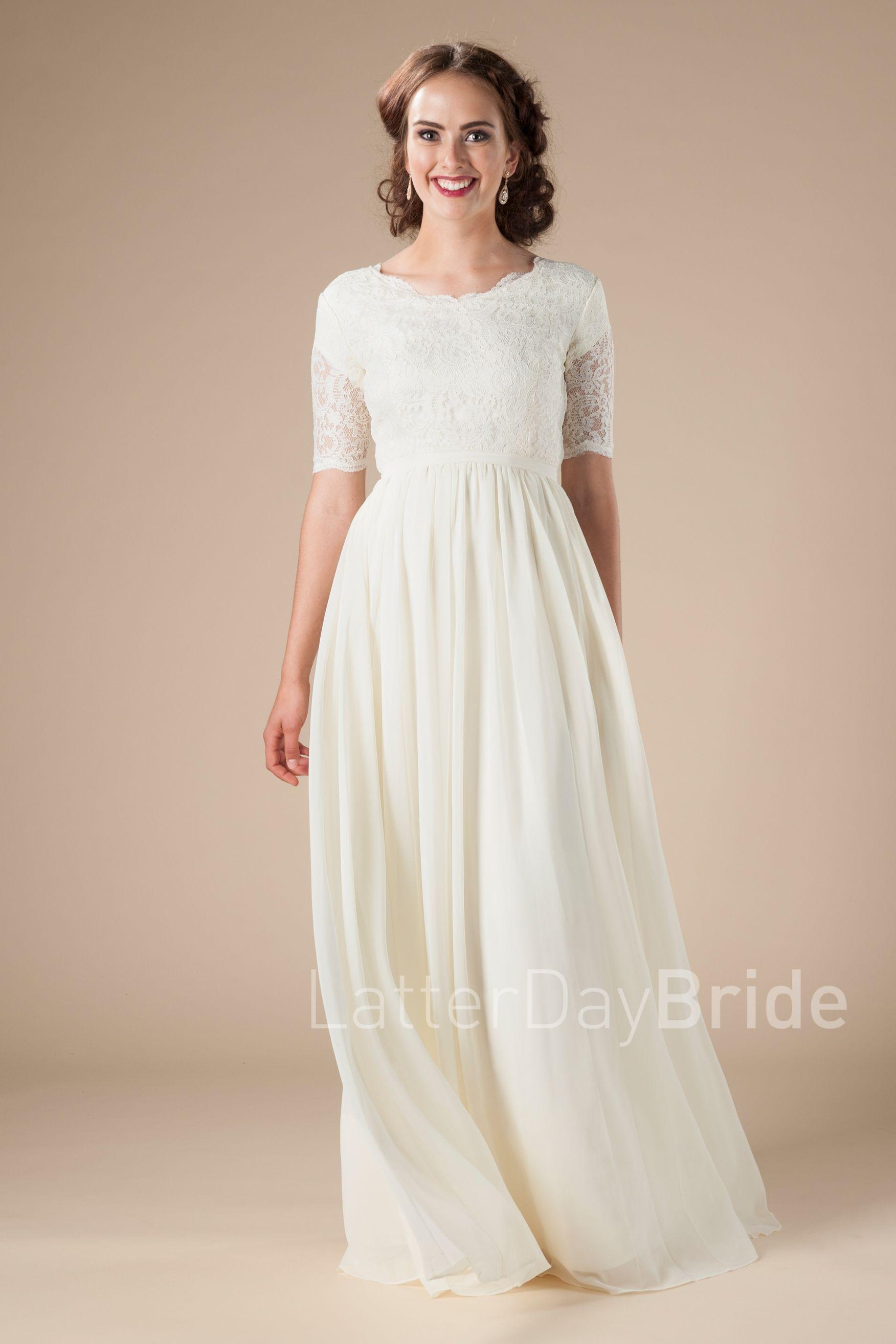71696e7bfab7 Cheap Lds Modest Wedding Dresses - raveitsafe