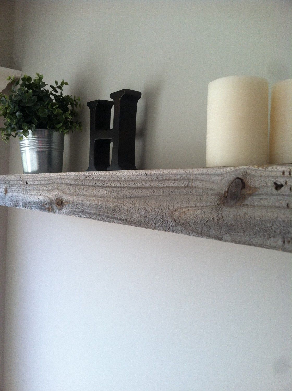 Floating shelves from reclaimed wood by farmhouseoutlet on etsy
