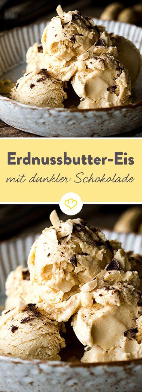 Erdnussbutter-Eis #homemadesweets